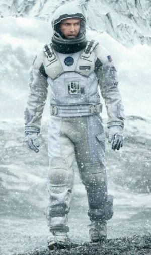 Matthew McConaughey in <i>Interstellar</i>.