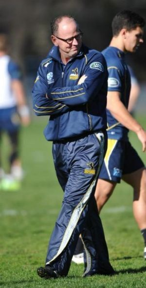 Former Brumbies coach Jake White left the club in a strong position, despite leaving after two years of a four-year deal.