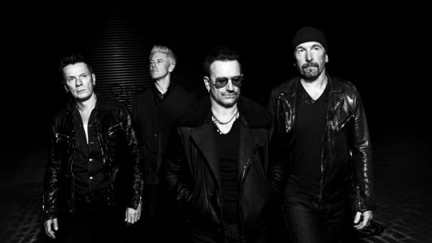 """Love us again. Please"": U2 frontman Bono."