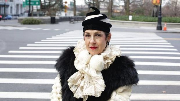 """If the outfit is not finished I don't take it out into the world"": Tziporah Salamon."