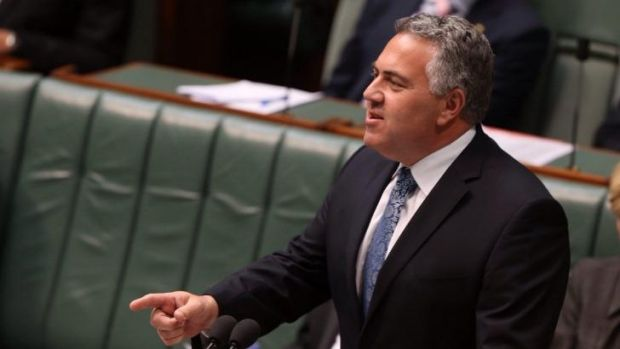 "Treasurer Joe Hockey says he will ""never give up"" on controversial savings set out in his first budget."