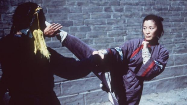 High-kicking movie move: <i>Crouching Tiger, Hidden Dragon</i> (starring Michelle Yeoh) will get a Netflix sequel.