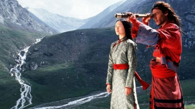 <i>Crouching Tiger, Hidden Dragon</i> helped put actors Zhang Ziyi (left) and Chang Chen on the world stage. Will the ...