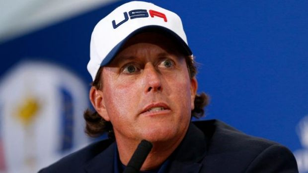 Phil Mickelson criticised Tom Watson.