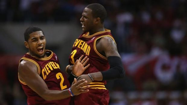 Young guns: Cavaliers back-court duo Kyrie Irving and Dion Waiters.