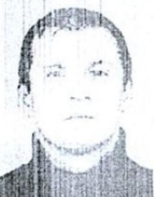 Krunoslav Bonic pictured on a 2006 Bosnian arrest warrant