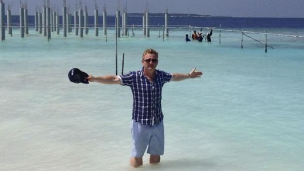 Luke Mangan: The chef has holidayed in the Maldives many times.