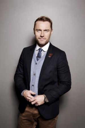 Raising funds for the Cancer Council: Ronan Keating.