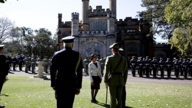 Sunny farewell: Dame Marie has served as NSW Governor for 13 years.