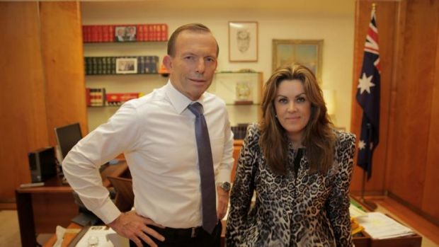 Confronting: Prime Minister Tony Abbott says he wishes women did not wear burqas, while his chief of staff, Peta ...