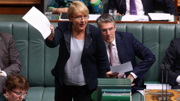 """""""This is the most incredible backdown"""": Jenny Macklin"""