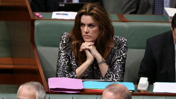 The PM's chief of staff Peta Credlin has spoken of her support for a burqa ban at Parliament.
