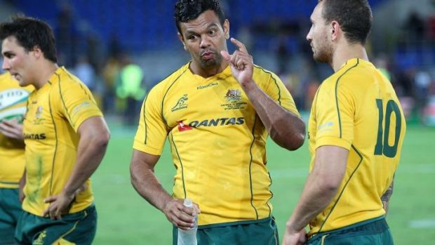 In the spotlight again: Kurtley Beale.