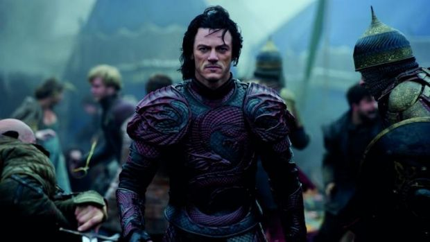 Bloodied pact: Vlad the nice guy? Luke Evans in <em>Dracula Untold</em>.