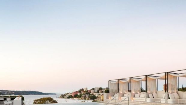 Eastern Suburbs luxury: The InterContinental Sydney Double Bay's rooftop area.