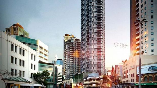 Consolidated Properties has unveiled its $200 million Queen Street residential tower.