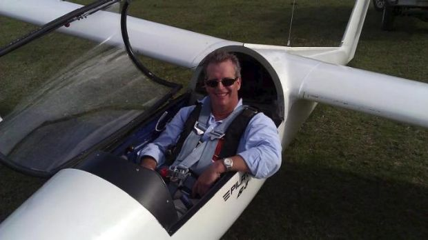 A host of factors: Andrew Ahern, who died in a glider collision last year.