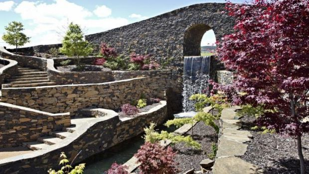 Grand scale: The work that has gone into creating the Mayfield Gardens is impressive.
