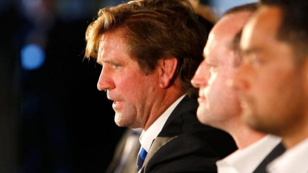 Mastermind: Des Hasler at the grand final lunch on Thursday.