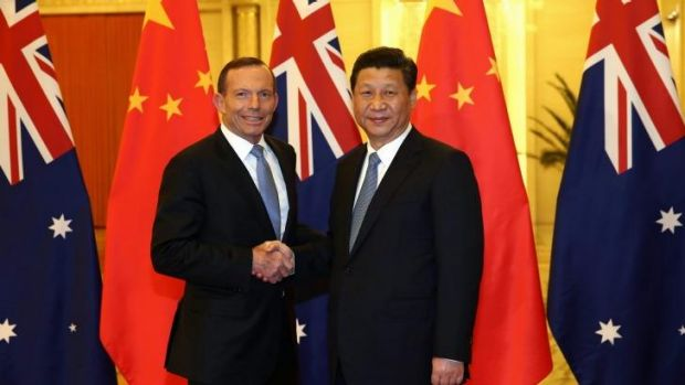 Prime Minister Tony Abbott hopes to sign a deal with Chinese President Xi Jinping.