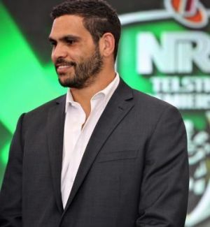 Greg Inglis at the grand final lunch on Thursday.