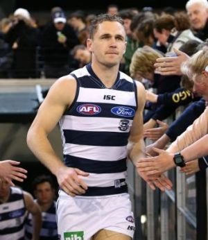 Best and fairest: Joel Selwood.
