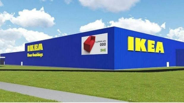 New pictures of the IKEA store to be built in Canberra.