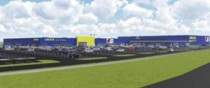 An image of the Canberra IKEA store.