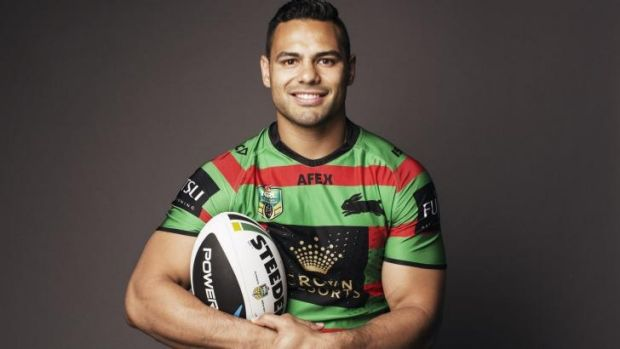 Raging Rabbitoh: Ben Te'o will be playing his final match on Sunday.