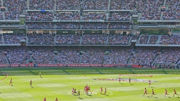 Several punters jumped in with huge bets on both the Swans and the Hawks just prior to the bounce in the AFL grand final.
