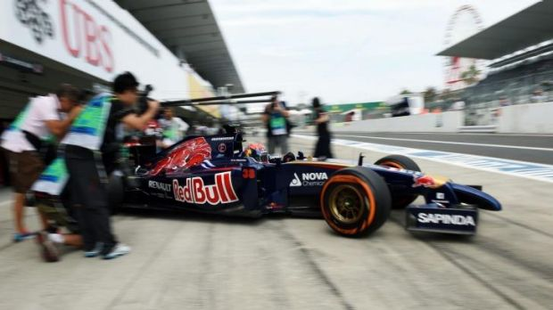 """I have a problem in the engine, it's not pulling any more"": Young Dutch driver Max Verstappen."