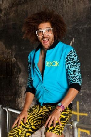 The X-Factor judge Redfoo.
