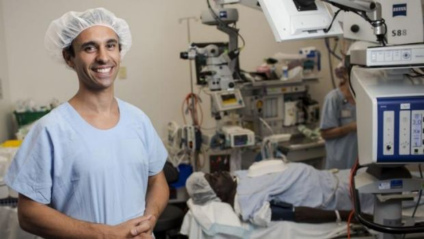 Dr Kris Rallah-Baker is about to become the nation's first Aboriginal ophthalmologist.