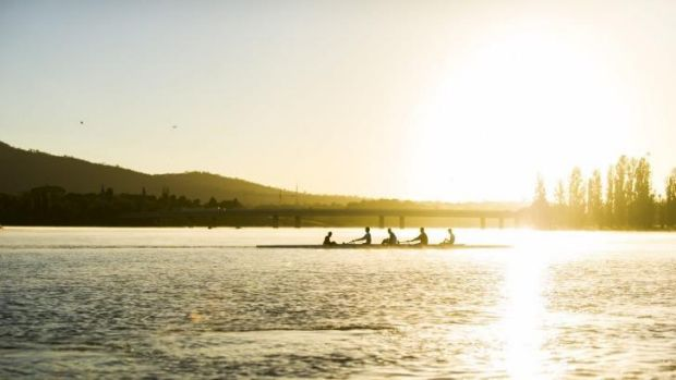 The ANU Boat Club celebrate the 50th anniversary since the Federal Department of Interior allowed rowing on Lake Burley ...