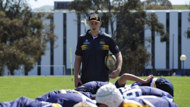 Brumbies player Tom Staniforth put some of the best young talent through their paces at UC.