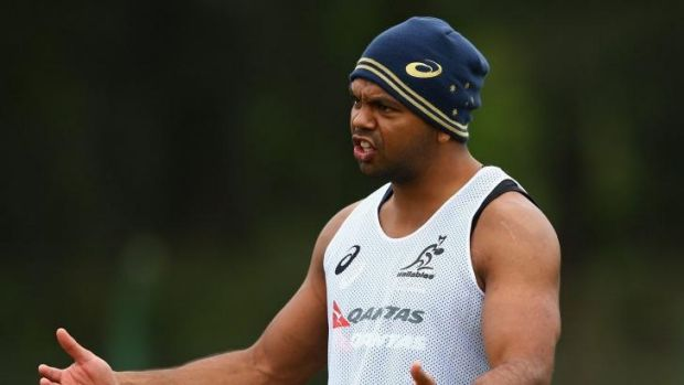 Mixed messages: Kurtley Beale is facing an uncertain future.