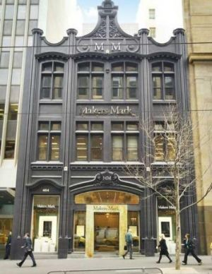 Approval for airspace use: Makers Mark jewellers, Collins Street, Melbourne.
