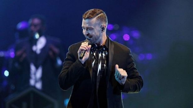 Squeaky clean: Justin Timberlake is looking for an edge.