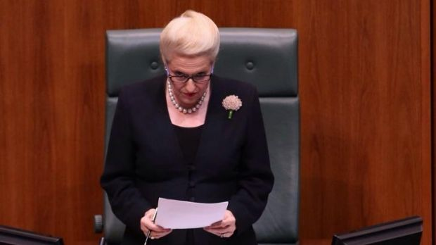 Burqa blunder risks chance of global gig: Speaker Bronwyn Bishop.