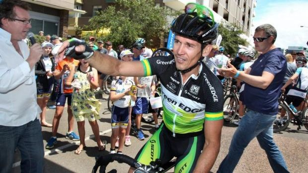 Robbie McEwen has a high opinion of Canberra cyclist Michael Matthews.