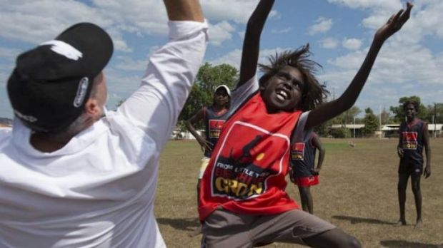 Sporting chance: Peter Holmes a Court in Arnhem Land.