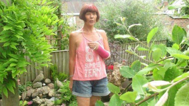 Accused of trolling: Brenda Leyland.