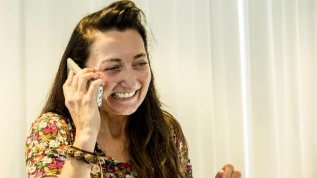 """""""I almost didn't take the call"""": May-Britt Moser was enjoying her discussion about data."""