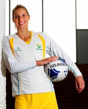 """""""I'm expecting that they will put a lot more pressure on our midcourt"""": Diamonds captain Laura Geitz."""