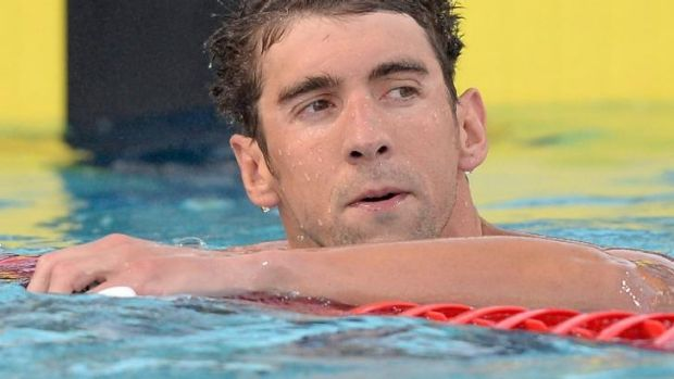 Banned: Michael Phelps will miss the 2015 World Swimming Championships in Kazan, Russia.