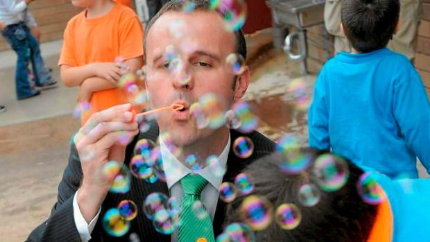 Bursting the bubble: The Reserve Bank has refused to use the word 'bubble' to describe house prices in Sydney, which ...