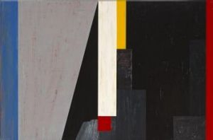 Australian abstraction: <i>Transit of shadows in nocturnal predominance no. 2</i>, 1987, by Robert Jacks.