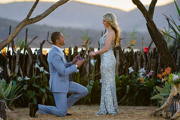 Finale: Blake Garvey makes his choice by proposing to Sam Frost.