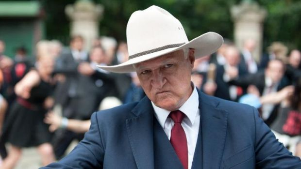 Bob Katter, above, made comments on the mental health issues faced by gay people that led his brother Richard to speak out.