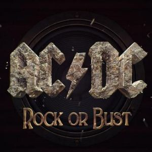 AC/DC album cover art.